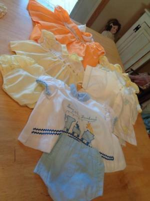 5 Vintage Baby Outfits~Great For Dolls~