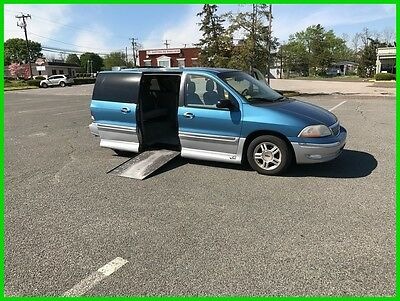 2001 Ford Windstar SEL VAN WHEELCHAIR HANDICAP POWER DOOR /RAMP 2001 FORD WINDSTA SEL Used 3.8L V6 12V