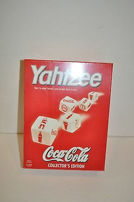 Coca-Cola Collectors Edition Coke Yahtzee Game Factory sealed.
