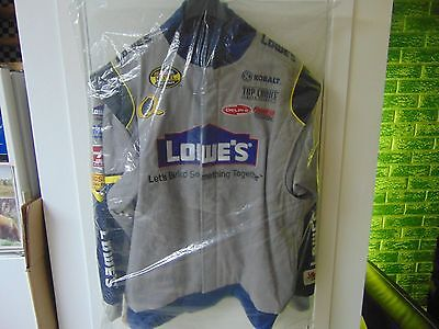 Jimmie Johnson / Nextel Cup Series Jacket / 100% Nylon and Polyester / Size : XL
