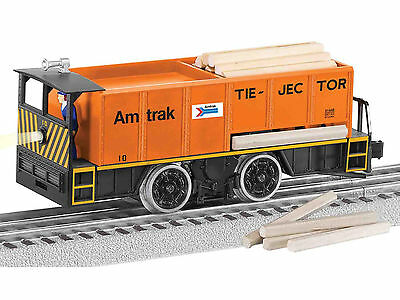 Lionel #81448 Amtrak Command Controlled Tie-jector Motorized Car