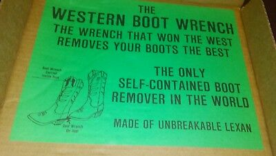 Vintage Western Boot Removable Tool, The Western Boot Wrench