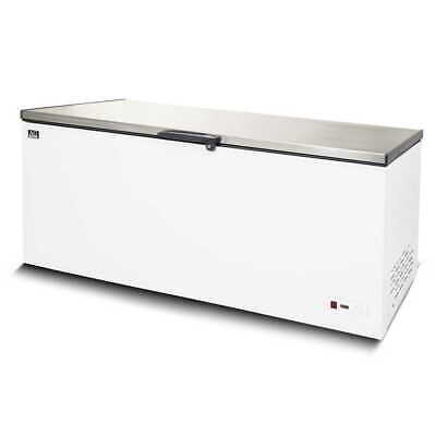 Brand New Commercial 1.8M Flat Top Stainless Steel White Chest Freezer 550L