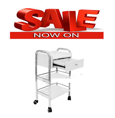Salon Trolley Furniture Tool Trolley Tool Drawers Storage Mobile Cart for Sale