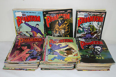 FREW PHANTOM COMIC's collection of  135 x 36 page  comics