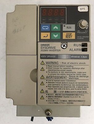 OMRON 3G3MV-C4007 (Used, Cleaned, Tested 2 year warranty)