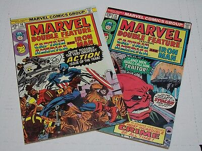 Marvel Double Feature - Lot of 2,  #10,14  VG+