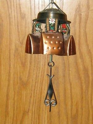 Wind Chimes With Swiss Bells