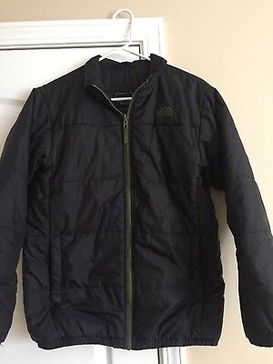 The North Face Black Youth Puffer Jacket size XL 18-20 boys Nice!!!