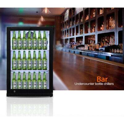 Control center Single door Bar Beverage Cooler Drink Storage Refrigerator