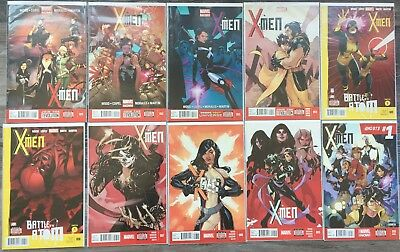 X-Men (2013) #1-22 Complete Run Lot Set Female Team NM First Prints