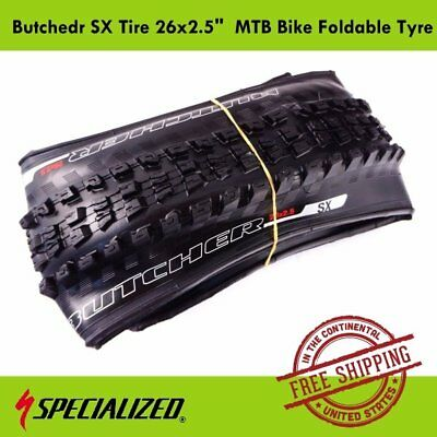 """Specialized Butcher SX Tire 26x2.5"""" Foldable Tyre Wheel for MTB Bike Bicycle"""