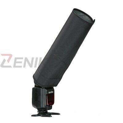 Foldable Speedlite Reflector Snoot Sealed Camra Flash Softbox Diffuser Universal