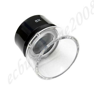 New Optical Glass Made 8X Loupe Lupe Magnifier Film Negative Slide Photo Viewing