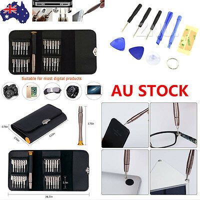 AU 25in1 Mini Precision Screwdriver Set Small Tiny Little Laptop Jewellers Craft