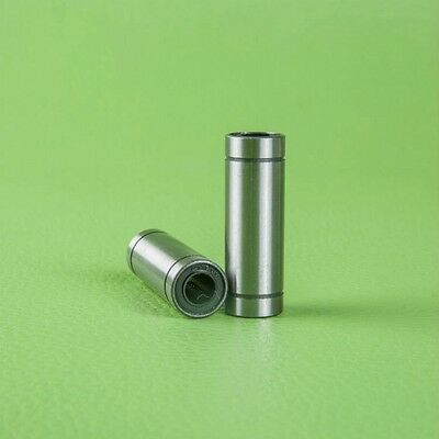 LM10LUU Long Linear Motion Ball Bearing Bushing For 10mm Shaft CNC Motion x 1Pcs