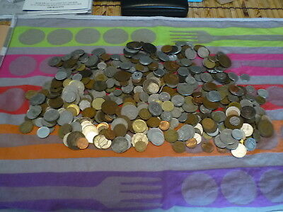 2.5 Kilos of World Coins. Bulk Lot. Clearance Special. Will Post Aust Only