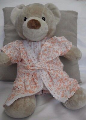 Print robe /underwear to fit pumpkin patch teddy 15 inch girls build a bear