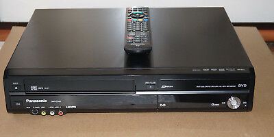 Panasonic Dmr-Ez48V Dvd / Vhs Combo Recorder / Player- Transfer Vhs To Dvd