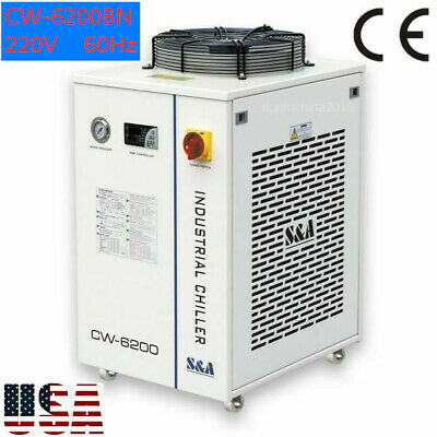 USA! S&A CW-6200BN Water Chiller for Laser Tube / Laser Diode/Solid-state Laser