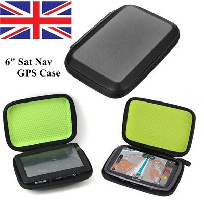 "6"" GPS Sat Nav Hard Case Cover for TomTom GO 600 610 620 6000 6100 6200 &Trucker"