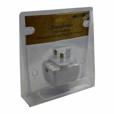 3 Volt Dual Power Transformer Ideal for Indoor