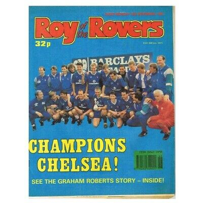 Roy of the Rovers Comic November 18 1989 MBox2797 Champions Chelsea!