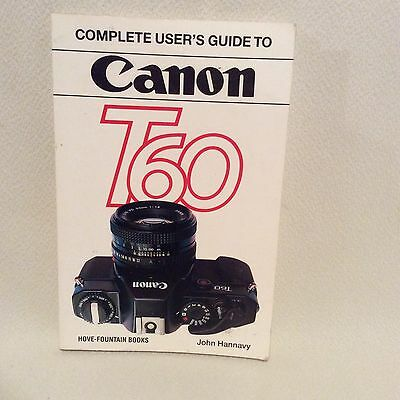 Canon T60 Users Guide