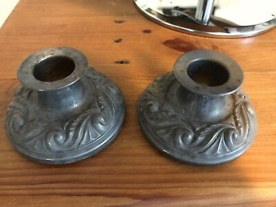 Hecworth Old Sheffield Reproduction Candle Holders