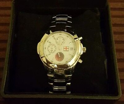 Limited Edition Danbury Mint 2005 Ashes Winners Comemorative Watch In Box w/ COA