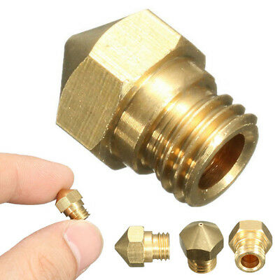 M7 MK10 0.4mm 3D Makerbot RepRap Extruder Nozzle Print Head For 1.75mm Filament