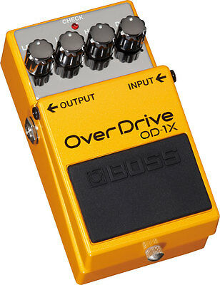 Boss OD-1X OverDrive Guitar Effects Pedal -Signal Processor-Special Edition OD1X