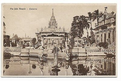 The Jain Temple CALCUTTA Old India Postcard 22B