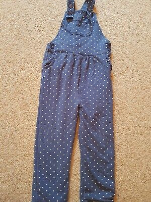 baby boden 2-3 girls dungarees