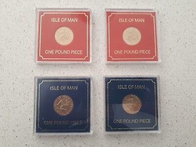 IOM Isle of Man Manx 1978 £1 One Pound Triskeles over Island uncirculated cased