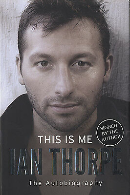 Ian Thorpe - 'Australian Olympic Swimming Legend ' Hand Signed Autobiography.