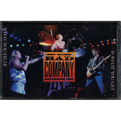 SEALED NEW TAPE Bad Company - The Best Of Bad Company Live: What You Hear Is Wha