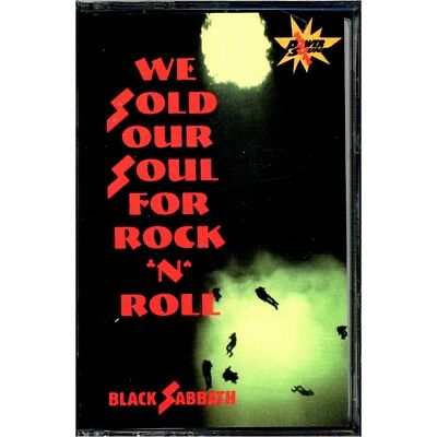 SEALED NEW TAPE Black Sabbath - We Sold Our Soul For Rock N Roll