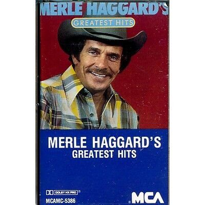 SEALED NEW TAPE Merle Haggard - Merle Haggard's Greatest Hits