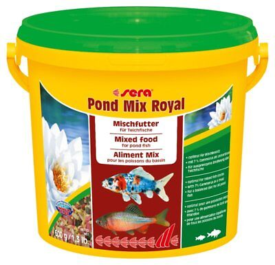 Sera Pond Mix Royal 3800 ml Mangime Misto per Pesci Laghetto