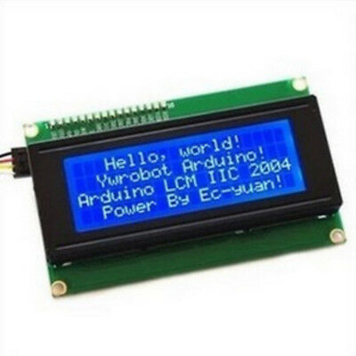 1PC New BLUE IIC I2C TWI 2004 Serial LCD Module Display FOR Arduino compatible