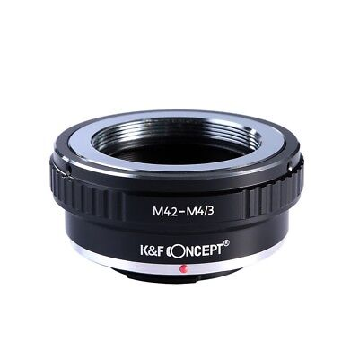 K&F Concept M42 Lens to Micro 4/3 Camera Mount Adapter for Olympus Panasonic