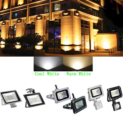 10W 20W 30W 50W PIR Motion Sensor LED Floodlight Security Flood Light Outdoor