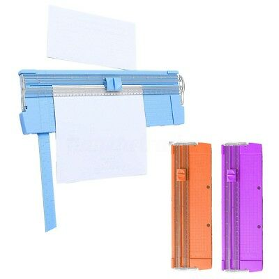A4 A5 Paper Card Precision Guillotine Rotaty Trimmer Photo Cutter Mat Blade Kit