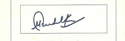 Sachin Tendulkar - India Test Cricket Legend - In Person Signed Card.
