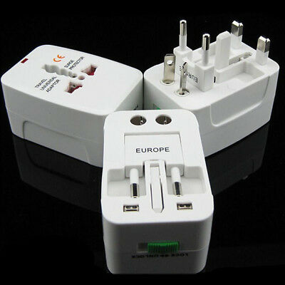 All-in-One Universal Travel Power Plug Adaptor Socket Converter for US UK EU AU