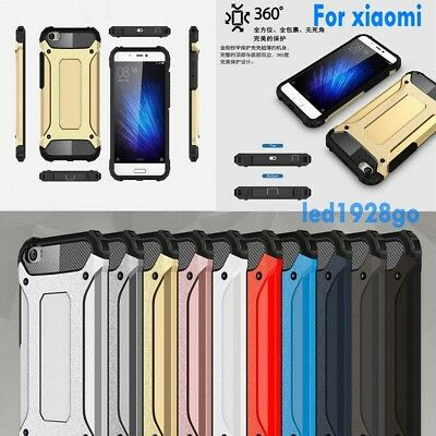 Luxury Hard Armor Shockproof Silicone Cover Case For Xiaomi Redmi Note 4 3/4X