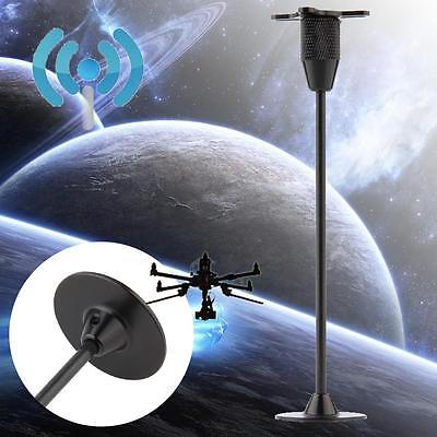 4-Axis GPS Foldable Antenna Holder Base Signal Bracket for Quadcopter Black S,