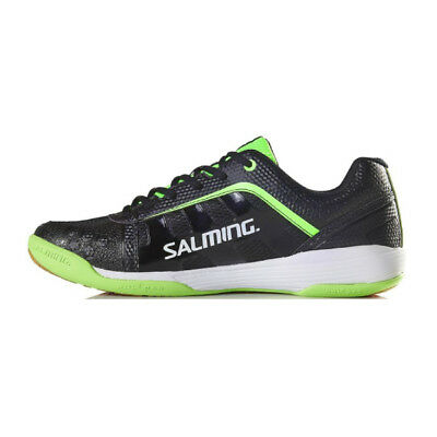 *NEW* Salming Adder Mens - Black/Green. Available in Sizes 8-13 *Custom Squash