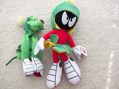 Marvin The Martian and K-9 Looney Tunes Plush toys